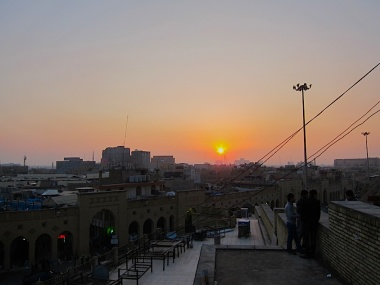 Vista desde la ciudadela de Erbil