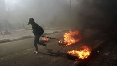 IsraelGazaFebProtests